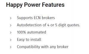 Happy Power EA Features
