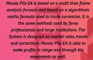 Money Pile EA strategy