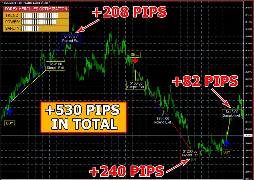 Forex Hercules System result