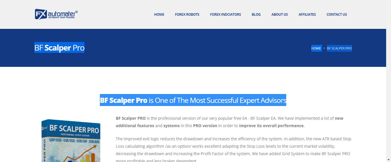 BF Scalper Pro Review