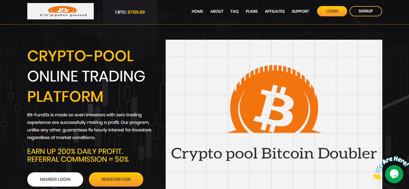 Crypto Pool Scam Review