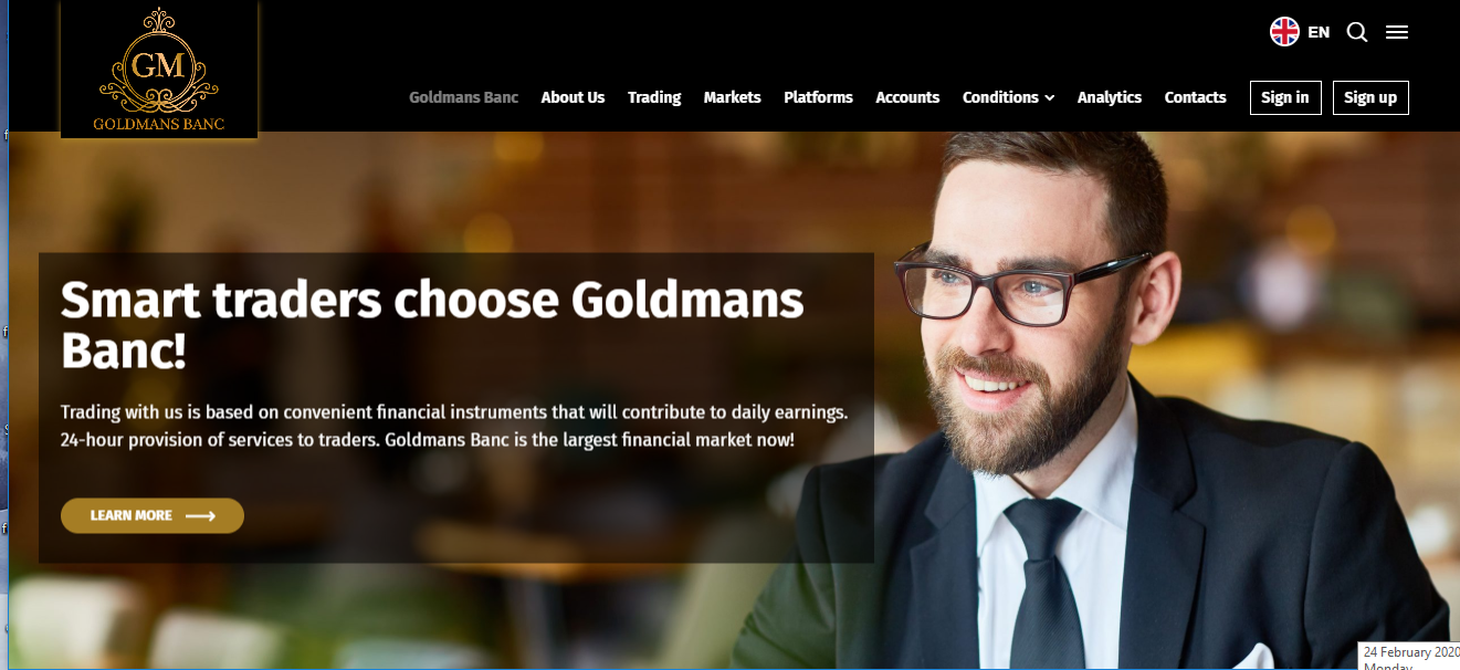 Goldmans Banc Review