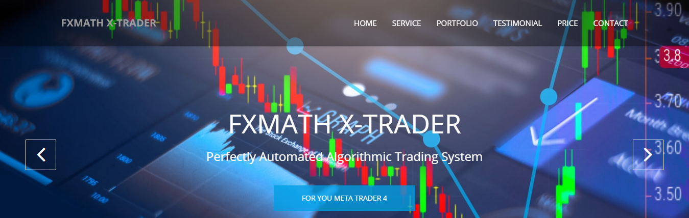 FXMath X_Trader EA Review