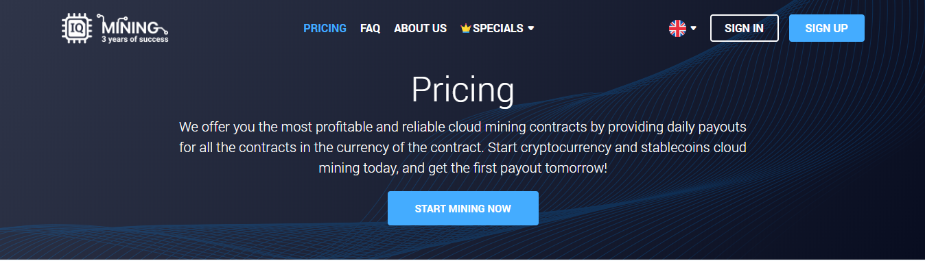 best cryptocurrency cloud mining sites