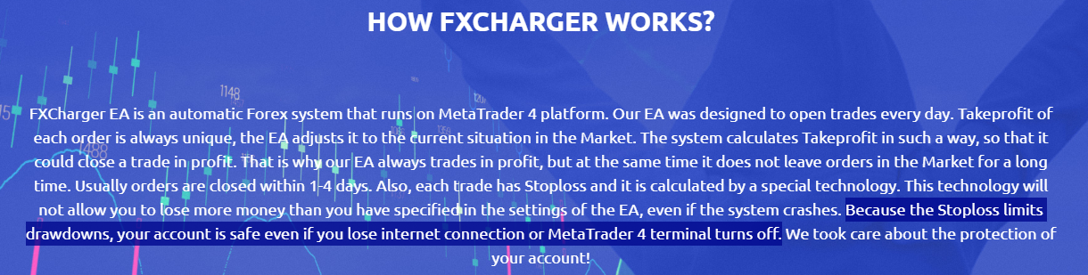 FXCharger EA strategy