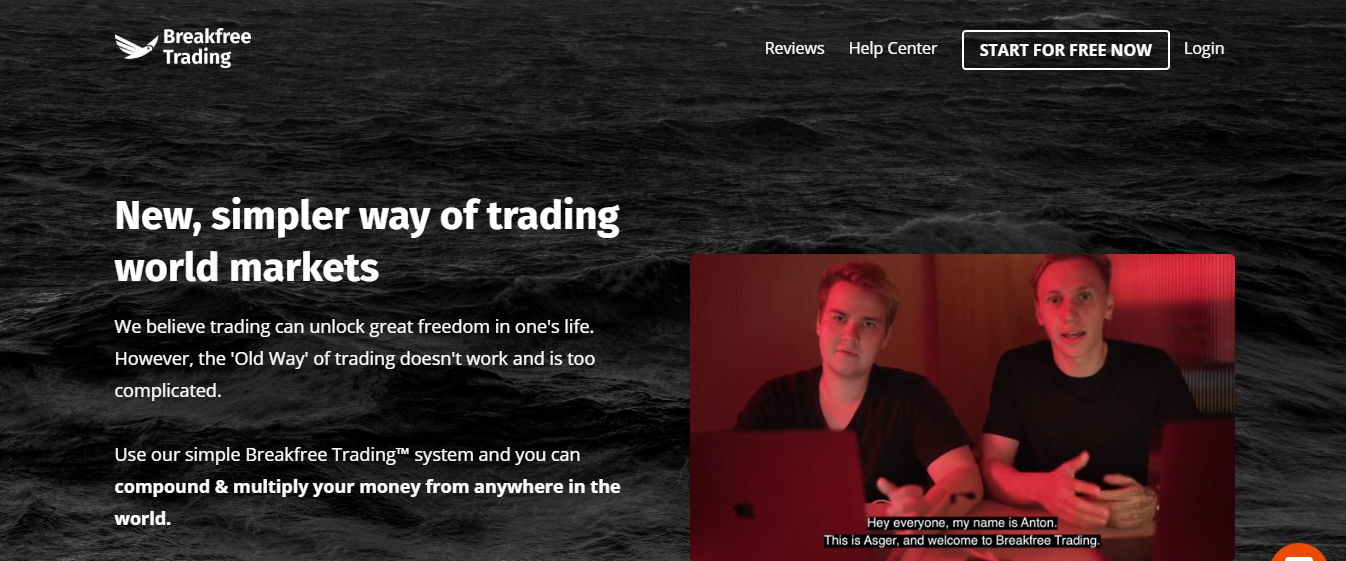 Breakfree Trading Review