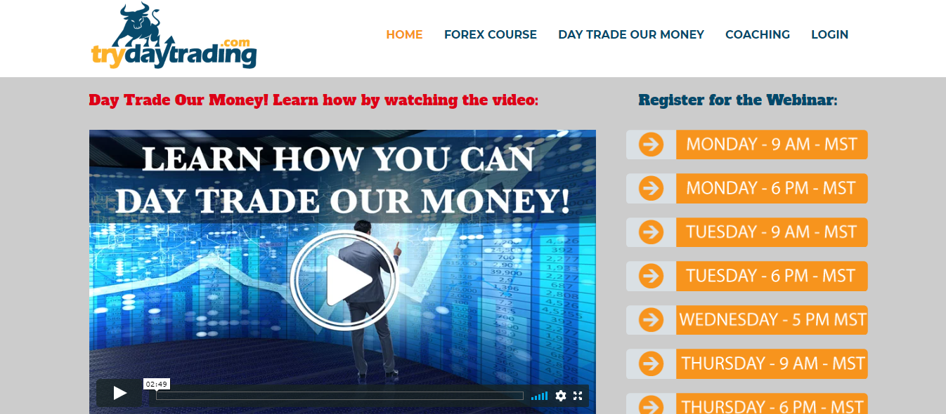 Try Day Trading Review