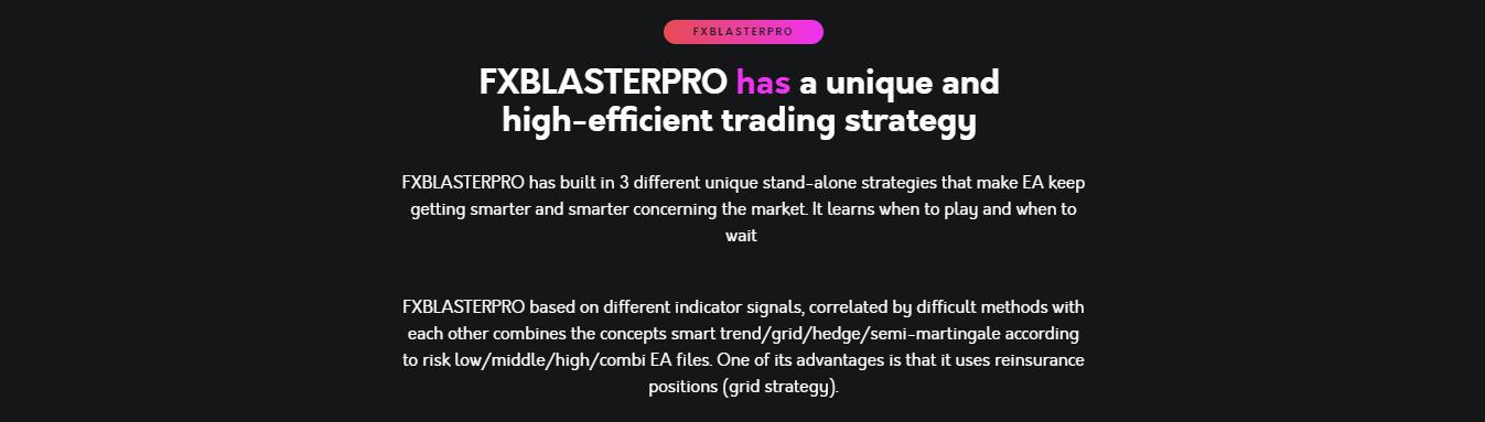 FX Blaster Pro EA Strategy