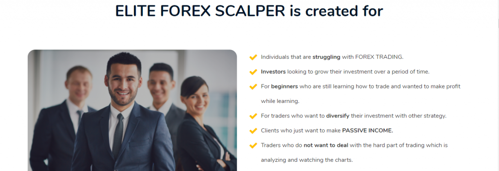 Elite Forex Scalper EA评论