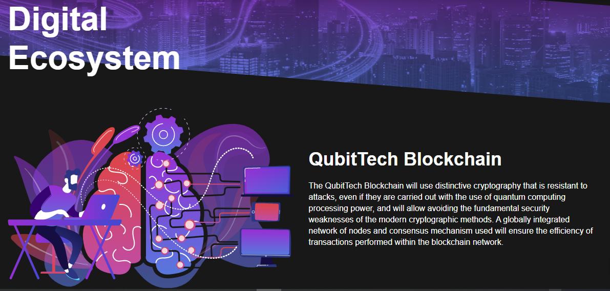 QubitTech  Blockchain